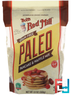 Grain Free, Paleo Pancake & Waffle Mix, Bob's Red Mill, 13 oz (368 g)