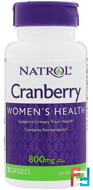Cranberry, Natrol, 800 mg, 30 Capsules