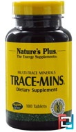 Trace-Mins, Nature's Plus, 180 Tablets