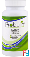 Daily Digestive Enzymes, Probulin, 90 Capsules