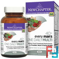 40+ Every Man's One Daily Multi, New Chapter, 48 Tablets