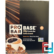 Protein Bar, Coffee Crunch, ProBar, Base, 12 - 2.46 oz (70 g) Each