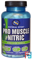 Pro Muscle Nitric, Nitric Oxide Formula, 120 Veggie Caps