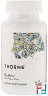 Biomins, Thorne Research, 120 Vegetarian Capsules