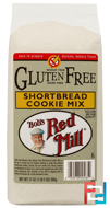 Gluten Free Shortbread Cookie Mix, Bob's Red Mill, 21 oz (595 g)