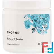Buffered C Powder, Thorne Research, 8 oz (227 g)