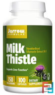 Milk Thistle, Jarrow Formulas, 150 mg, 100 Veggie Caps