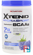 Xtend HydraSport, Hydration + BCAAs, Scivation, 12.2 oz, 345 g