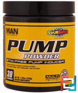 Pump Powder, Stim-Free Pump Inducer, MAN Sports, 7.94 oz, 225 g