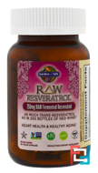 RAW Resveratrol, Garden of Life, 350 mg, 60 Veggie Caps
