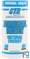 Adrenal Reset, CTD Sports, 60 Tablets