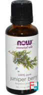 Essential Oils, Juniper Berry, Now Foods, 30 ml