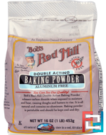 Baking Powder, Gluten Free, Bob's Red Mill, 16 oz (453 g)