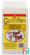 Vanilla Cake Mix, Gluten Free, Bob's Red Mill, 19 oz (539 g)