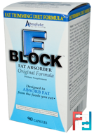 FBlock, Fat Absorber, Absolute Nutrition, 90 Capsules