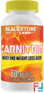 Carnitrim, Blackstone Labs, 60 tablets