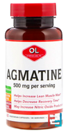 Agmatine, Olympian Labs Inc., 500 mg, 60 Veggie Caps