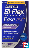 Joint Health, Ease PM, Advanced Triple Action + Melatonin, Osteo Bi-Flex, 28 Mini Tablets