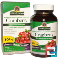 Cranberry, Nature's Answer, 800 mg, 90 Vegetarian Capsules