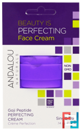 Andalou Naturals, Perfecting Cream, Goji Peptide, Single Use, .14 oz (4 g)