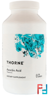 Pure Ascorbic Acid, Thorne Research, 250 Vegetarian Capsules
