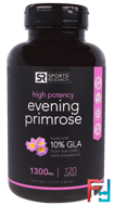 Evening Primrose, Sports Research, 1300 mg , 120 Softgels
