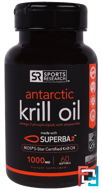 Antarctic Krill Oil, 1000 mg, Sports Research, 60 Softgels