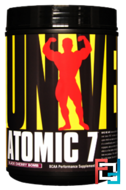 Discontinued - Atomic 7, Universal Nutrition, 2.2 lb, 1000 g