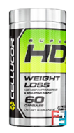 Super HD, Weight Loss, Cellucor, 60 Capsules