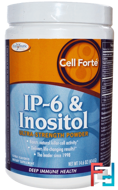 Cell Forte, IP-6 & Inositol, Ultra Strength Powder, Citrus Flavored, Enzymatic Therapy, 14.6 oz, 414 g