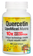 Natural Factors, Quercetin LipoMicel Matrix, 30 Liquid Softgels