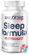 Sleep formula, Be First, 60 capsules
