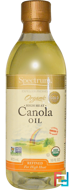 Organic Canola Oil, High Heat, Refined, Spectrum Naturals, 16 fl oz (473 ml)