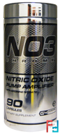 NO3 Chrome, Nitric Oxide Pump Amplifier, 90 Capsules
