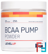 BCAA Pump, Level Up, 250 g