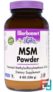 MSM Powder, Bluebonnet Nutrition, 8 oz, 226 g