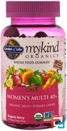 Mykind Organics, Women's Multi 40+, Organic Berry, Garden of Life, 120 Gummy Drops