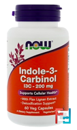 Indole-3-Carbinol, Now Foods, 200 mg, 60 Veggie Caps