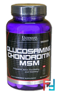 Glucosamine & Chondroitin & MSM, Ultimate Nutrition, 90 tabs