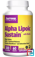 Alpha Lipoic Sustain, with Biotin, Jarrow Formulas, 300 mg, 60 Tablets
