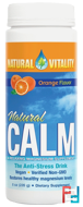 Natural Calm, The Anti-Stress Drink, Orange Flavor, Natural Vitality, 8 oz (226 g)