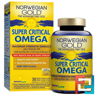 Super Critical Omega, Orange Flavor, Renew Life, 30 Enteric-Coated Softgels