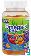 Omega-3 DHA, Mixed Fruit, Yum-V's, 90 Gummies