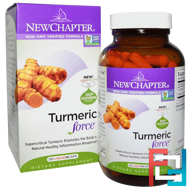 Turmeric Force, New Chapter, 120 Vegetarian Capsules