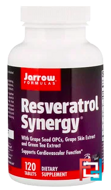 Resveratrol Synergy, Jarrow Formulas, 120 Tablets