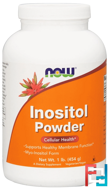 Inositol Powder, Now Foods, 1 lb, 454 g