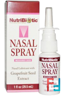Nasal Spray, with Grapefruit Seed Extract, NutriBiotic, 29.5 ml