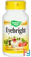 Eyebright, Nature's Way, 458 mg, 100 Capsules
