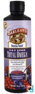 Total Omega 3­·6·9 Vegan, Pomegranate Blueberry, Barlean's, 16 oz, 454 g