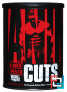 Animal Cuts, Ripped & Peeled, Training Supplement, Universal Nutrition, 42 Packs